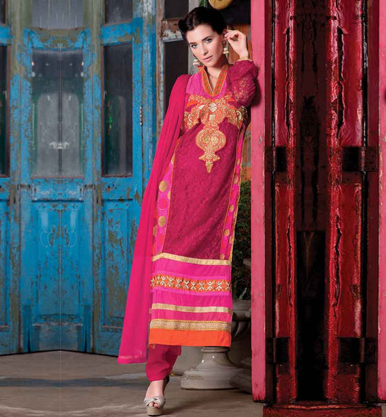 NEW DRESS PATTERNS SALWAR KAMEEZ FOR INDIAN LADY SEMI BEMBERG GEORGETTE DRESS FOR PARTIES AND OTHER SPECIAL OCCASIONS