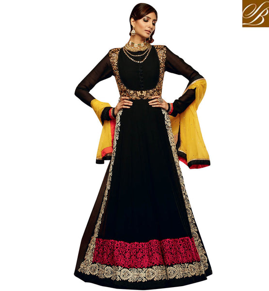 BEWITCHING ANARKALI SUIT KMV7701 | KIMORA VOL 7  701 | STYLISHBAZAAR