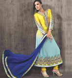 SIZZLING SHADED PARTY WEAR DRESS VDAAN7025