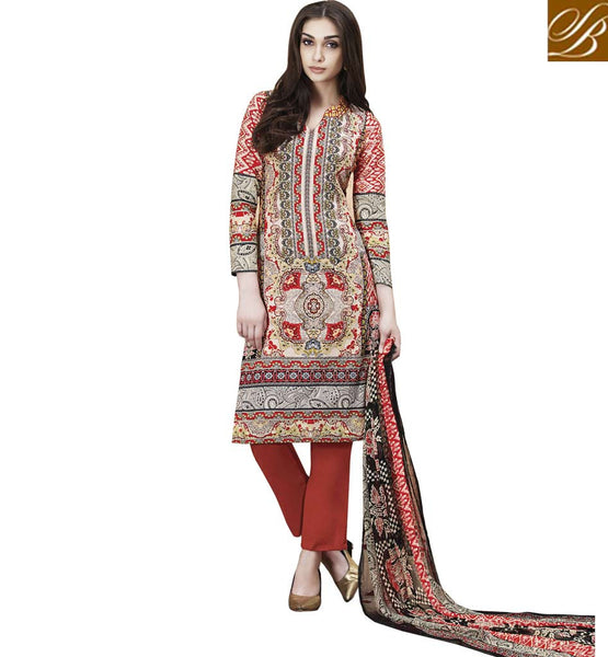 STYLISH BAZAAR ENTHRALLING DESIGNER PRINTED CHURIDAAR DESIGN RTPRG702