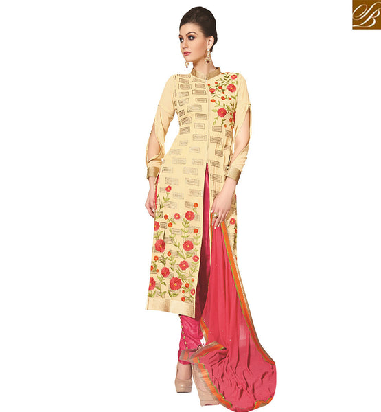 FROM THE HOUSE  OF STYLISH BAZAAR APEALLING PARTY WEAR MID SLIT SLAWAR SUIT DESIGN VDNIM703