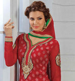 LATEST DESIGN STRAIGHT STYLE PARTY WEAR SALWAR SUIT