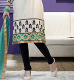smart combination salwar kameez for women