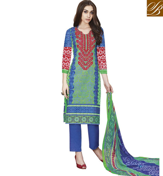 STYLISH BAZAAR FASCINATING PRINTED DESIGNER SALWAAR KAMEEZ RTPRG705