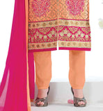GEORGETTE KAMEEZ WITH SANTOON SHALVAR AND HEAVY NAZNEEN ODHNI PAKISTANI SALWAR KAMEEZ DESIGNS INSPIRED FASHION