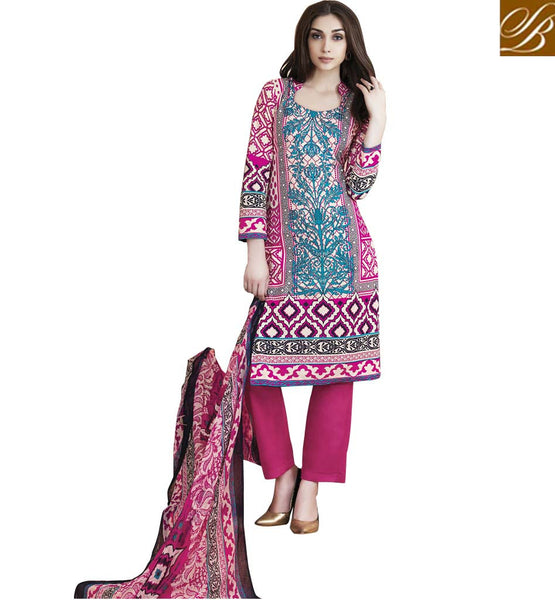 STYLISH BAZAAR GORGEOUS PRINTED ONLINE INDIA KURTA SHALWAR RTPRG706