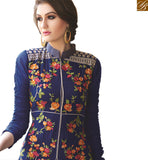 STYLISH BAZAAR INTRODUCES STRIKING DESIGNER SALWAR STRAIGHT CUT SUIT DESIGN VDNIM707
