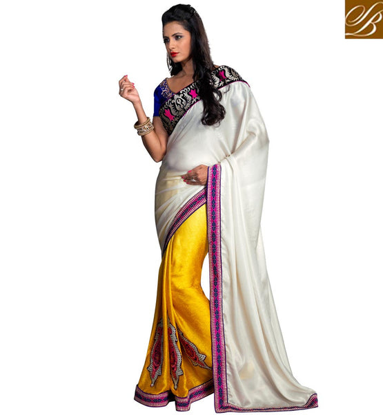 BRANDED SAREES ONLINE SHOPPING IN INDIA WITH DESIGNER BLOUSE PIECE
