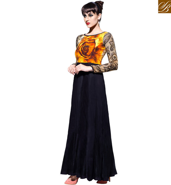 FROM STYLISH BAZAAR CHARMING DESIGNER GOWN SPECIAL OCCASIONS VDBLU7103