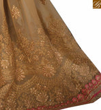 STYLISH BAZAAR PRESENTS WELL DESIGNED EMBROIDERED DESIGNER SAREE RTVID7150