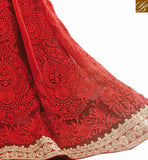 DESIGNER SARI BLOUSE PARTY WEAR RTVID7153 Red