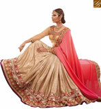 A STYLISH BAZAAR PRESENTATION STRIKING EMBROIDERED SARI BLOUSE DESIGNER WEAR RTHYT7203