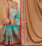 A STYLISH BAZAAR INTRODUCES STUNNING DESIGNER SARI AND BLOUSE FOR ALL OCCASIONS RTHYT7205