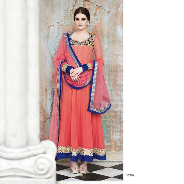 Indian Parties/ Wedding Designer Anarkali Suit 1386