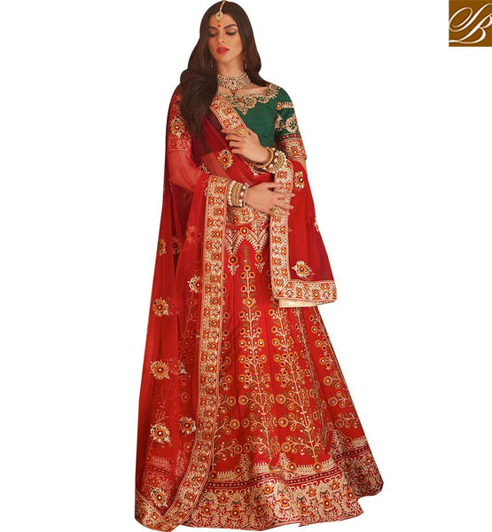 AESTHETIC 3 PIECE LEHENGA CHOLI DESIGN RTMRR7300 BY MAROON