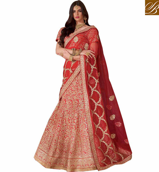 IMPERIAL 3 PIECE LEHENGA DESIGN RTMRR7304 BY STYLISH BAZAAR
