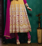 LATEST FASHION TWO COLOR ANARKALI DRESS FROM STYLISH BAZAAR STORE