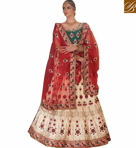 BROUGHT TO YOU BY STYLISH BAZAAR MAJESTIC LEHENGA SARI FOR SPECIAL OCCASIONS RTMRR7305
