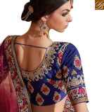PREMIUM EMBROIDERY DESIGN GHAGHRA CHOLI RTMRR7308 BY BLUE