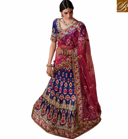 STYLISH BAZAAR PRESENTS PREMIUM EMBROIDERY DESIGN GHAGHRA CHOLI RTMRR7308