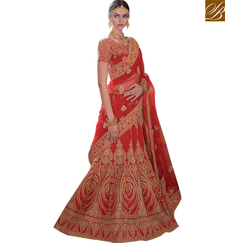STYLISH BAZAAR STUNNING LEHENGA CHOLI DESIGN FOR SPECIAL EVENTS RTMRR7310