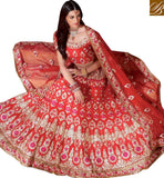 FROM THE HOUSE OF STYLISH BAZAAR APPEALING BRIDAL WEAR GHAGHRA CHOLI DESIGN RTMRR7311