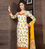 OUT-STANDING PURE COTTON PRINTED OFFICE WEAR DRESS MATERIAL RTAA7337A