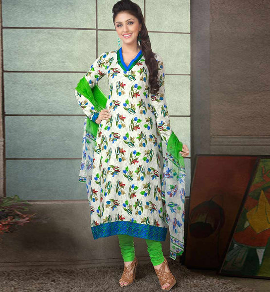 RAVISHING PURE COTTON PRINTED OFFICE WEAR DRESS MATERIAL RTAA73337B