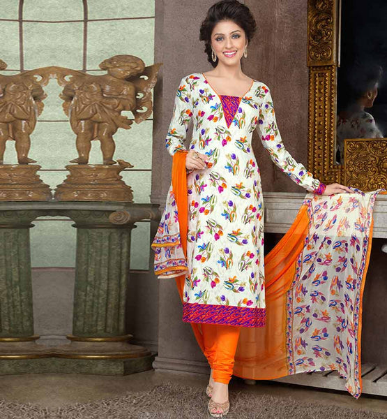 STUNNING PURE COTTON PRINTED OFFICE WEAR DRESS MATERIAL RTAA7337C