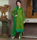 CAPTIVATING PURE COTTON PRINTED OFFICE WEAR DRESS MATERIAL RTAA7339A