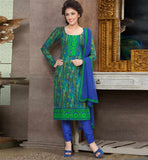 GRACEFUL PURE COTTON PRINTED OFFICE WEAR DRESS MATERIAL RTAA7339C