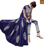 A STYLISH BAZAAR PRESENTATION EYE CATCHING ANARKALI STYLE LATEST SALWAR KAMEEZ FLCE7351