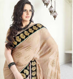 IRRESISTIBLE ZAREEN KHAN GEORGETTE SARI VSES7422 - STYLISHBAZAAR - ZAREEN KHAN, BOLLYWOOD SAREES, Ethnicity  Collection, Indian wedding sarees, Wedding Sarees Online, Sarees for Wedding, online wedding sarees, online shopping for wedding sarees, indian wedding clothing,