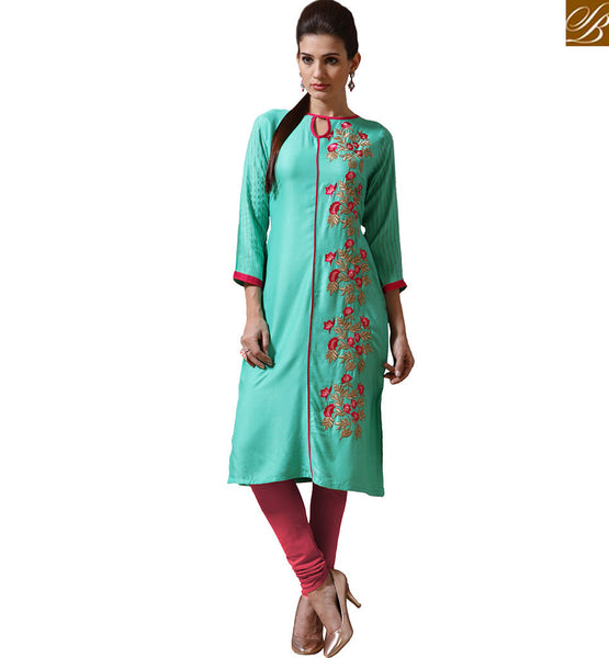 GOOD LOOKING DESIGNER KURTI FOR GIRLS VNJHI7555
