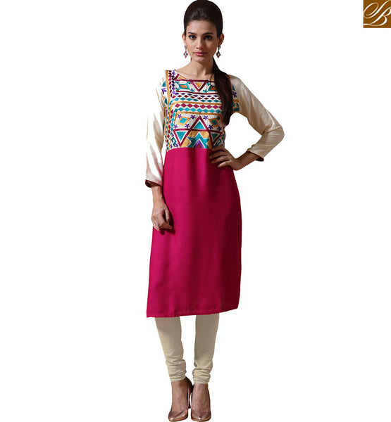 CHARMING UNIQUELY DESIGNED KURTI FOR PARTIES VNJHI7556