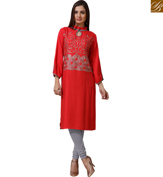 APPEALING DESIGNER PARTY WEAR KURTI VNJHI7557