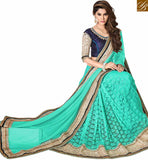 ELEGANT DESIGNER EMBROIDERED SAREE DESIGN VDSNZ7563 BY STYLISH BAZAAR