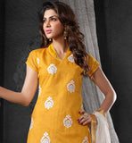 COOL CHANDERI COTTON WOMEN SALWAR KAMEEZ FOR THE SUMMER SEASON