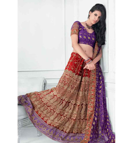 ATTRACTIVE DESIGNER BRIDAL LEHENGA CHOLI RTXL8005B - STYLISHBAZAAR - bridal dresses online, Lehenga Choli Online,online shopping for wedding Lehenga Choli, Shop Online for Bridal Lehenga Choli,Designer Bridal Leheng Choli Collection