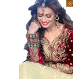 WONDERFUL DIYA MIRZA BOLLYWOOD DESIGNER ANARKALI SUIT RTDIY8006
