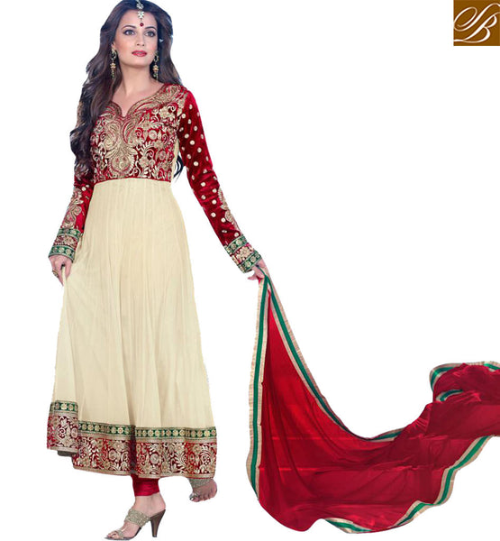 Dia Mirza Wedding Salwar Suit
