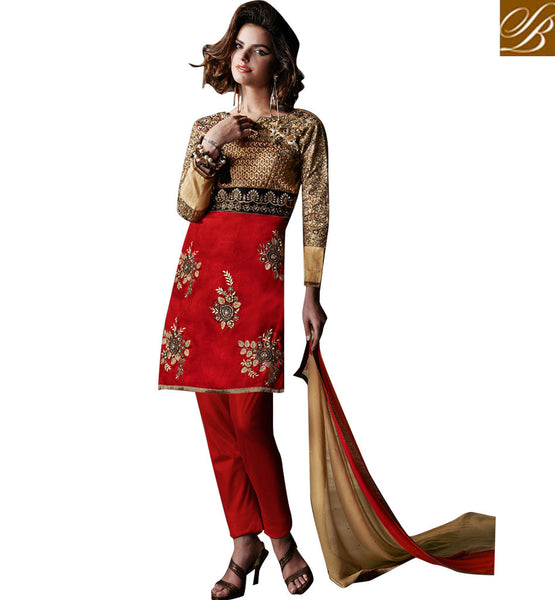 RAMADAN EID SPECIAL DESIGNER SHORT KURTI WITH SALWAR MAROON MINI KURTI WITH STONE WORK AND BUTTA DESIGNS  FOR 2015 EID FESTIVAL