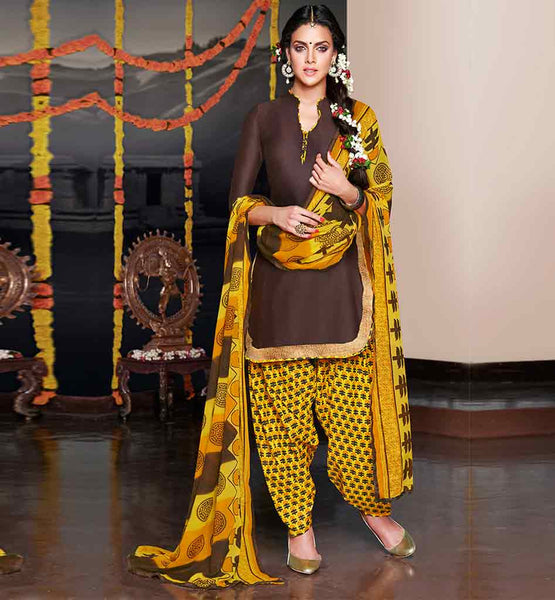 EVER STYLISH PATIALA SUIT DESIGN OF PANJABI SALWAR KAMEEZ PATTERNS