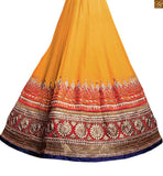 BROUGHT TO YOU BY STYLISH BAZAAR ADORABLE EMBROIDERED 3 PIECE LEHENGA CHOLI DESIGN RTSEL801