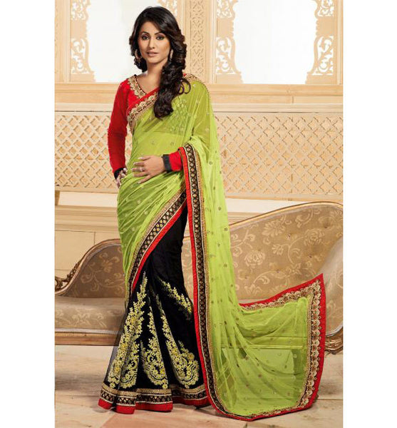 hina khan wedding sarees