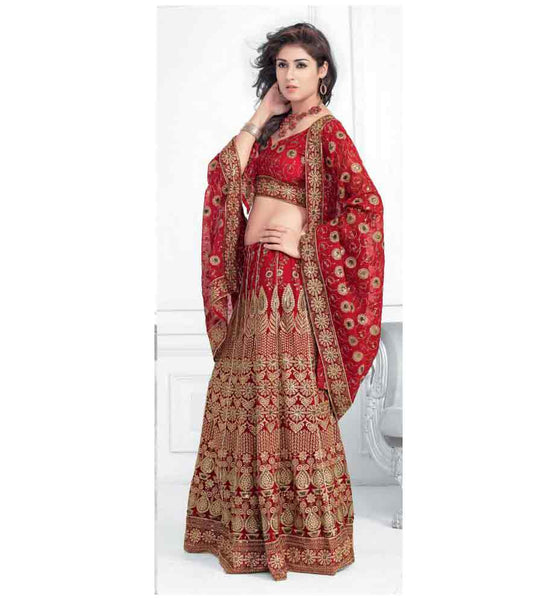 EYE-CATCHING DESIGNER BRIDAL LEHENGA CHOLI RTXL8010A - stylishbazaar - buy Lehenga Choli online, Lehenga Choli online shopping in india, buy Lehenga Choli online, Lehenga Choli designs, latest Lehenga Choli