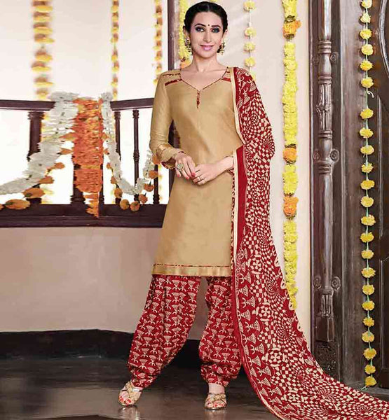KARISMA KAPOOR SALWAR SUITS FOR CASUAL WEAR ONLINE SHOPPING INDIA