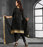 LATEST CASUAL DRESS CHANDERI COTTON SALWAR SUIT ONLINE SHOPPING