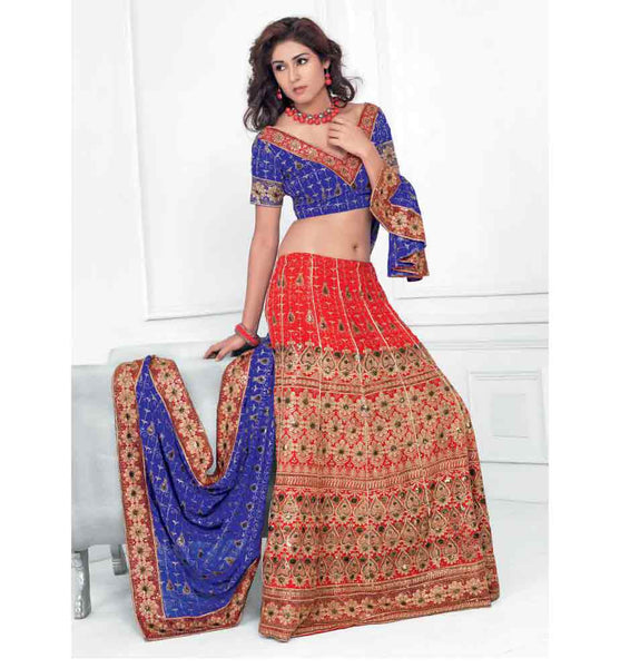 SIZZLING  DESIGNER BRIDAL LEHENGA CHOLI RTXL8012B - StylishBazaar - Bridal Lehenga Choli, Bridal Lehenga Choli Online, Buy Lehenga Choli Online, Bridal Lehenga Choli Online Shopping, Shop Online for Bridal Lehenga Choli