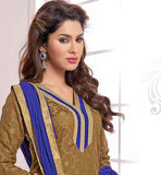 PERFECT OFFICE WEAR PURE JACQUARD KAMEEZ WITH CONTRAST SALWAR AND DUPATTA